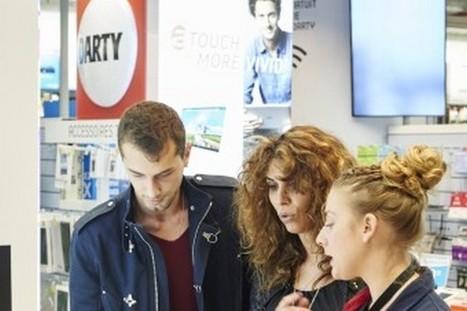 """Darty incite ses vendeurs à """"tchater"""" avec les clients depuis les magasins   Innovation dans la distribution   Scoop.it"""