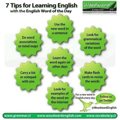 7 Tips for learning an English Word every day | How to learn English effectively | Scoop.it