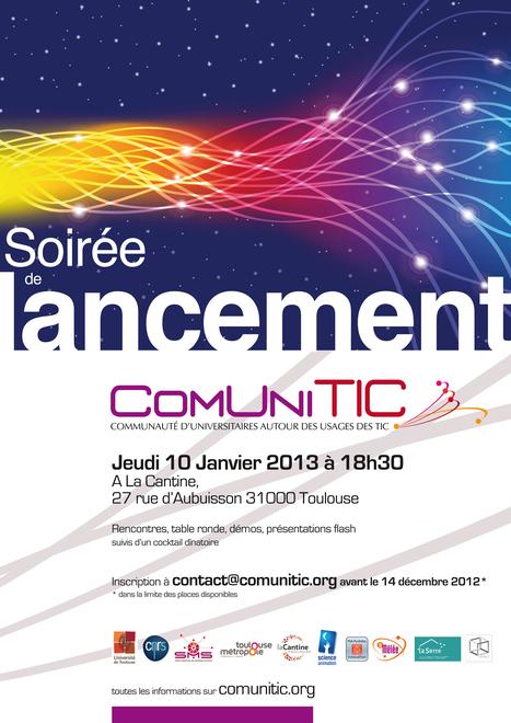 Soirée de lancement de ComUniTIC   La Cantine Toulouse   Scoop.it