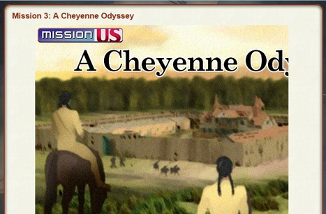 Mission 3: A Cheyenne Odyssey - Interactive History Game | hobbitlibrarianscoops | Scoop.it