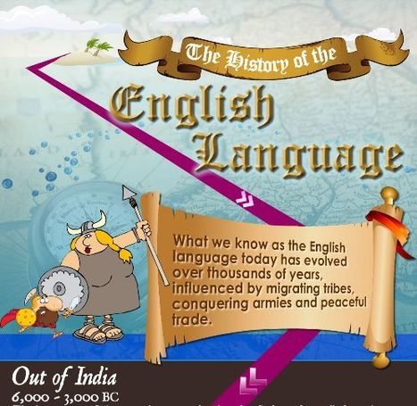 The History of the English Language - Infographic | Anything and Everything Education | Scoop.it