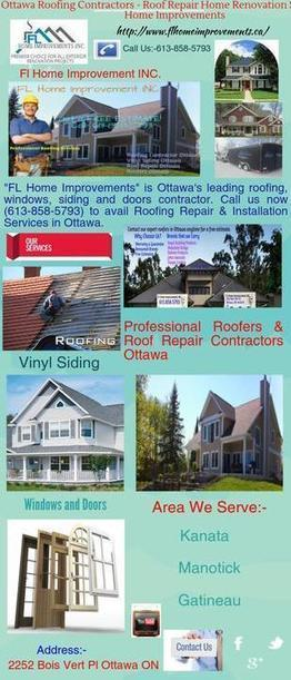 Contact Trusted Roofing Contractor in  Ottawa | Home Renovations Ottawa | Scoop.it