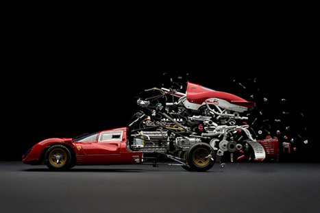 Photographer captures the explosive birth and death of model cars | Books, Photo, Video and Film | Scoop.it