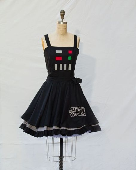 More Adorable Geek Pin Up Dresses | GeekGasm | Scoop.it
