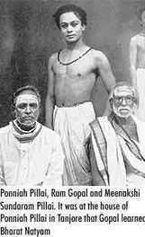 Pandanallur Meenakshi Sundaram Pillai and Ponniah Pillai with Ram Gopal | Indian Dance, History, and Scholarship | Scoop.it
