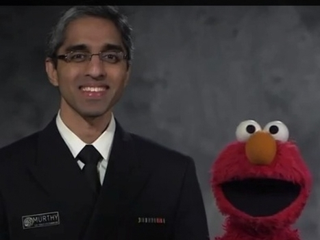 Elmo Teams Up With Surgeon General To Promote Vaccinations | The Health Story | Scoop.it