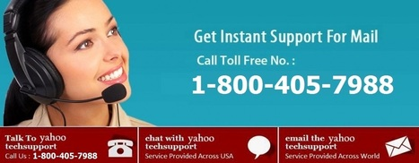 Find the best suited Yahoo tech help option for you | Yahoo Tech Support – 1-800-405-7988 ! Number | Scoop.it