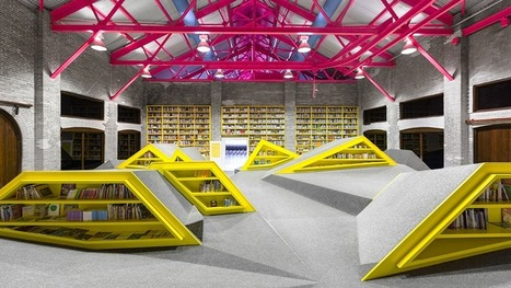 A Mountain Range of Shelves Turns This Kids' Library Into a Playground | Architecture and stage design | Scoop.it