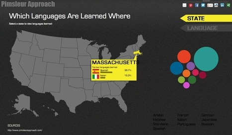 Language Learning In The United States: An Interactive Map - Edudemic | Internet 2013 | Scoop.it