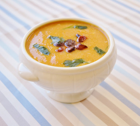 My Cute Bride: Sweet potato and chorizo soup #sundaysupper | WellnessNEWS | Scoop.it