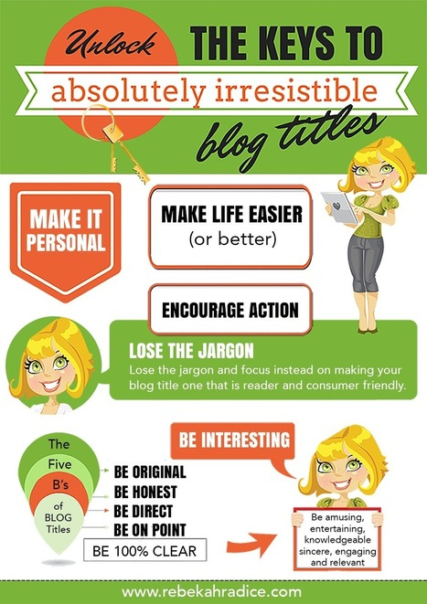 Unlock the Keys to Absolutely Irresistible Blog Titles | Good Growth | Scoop.it