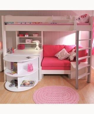 ilovepink4ever ,, | Loft Bed with Slide | Scoop.it