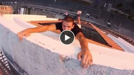 Mustang Wanted : La vidéo vertigineuse du Spiderman ukrainien va vous donner des sueurs froides | Insolite et fou ! | Scoop.it