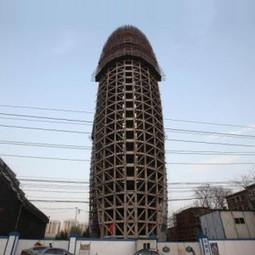 [Beijing, China]  newspaper headquarters compared to huge penis | The Architecture of the City | Scoop.it