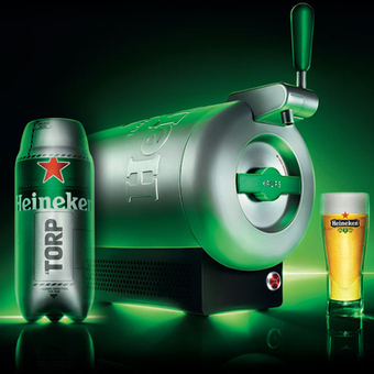 Marc Newson, Heineken and Krups Team-Up Provides a New Way to Beer: The Sub | Booze | Scoop.it