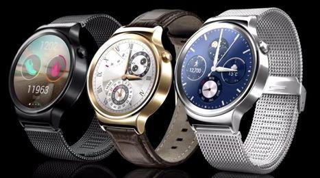 Huawei Watch, uno de los smartwatch con mayor atractivo. | Noticias Wearables | Scoop.it
