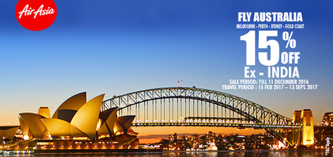 SPECIAL AIRFARE TO AUSTRALIA | Riya Travels | Scoop.it