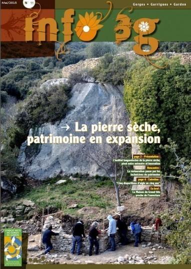 La pierre sèche à l'honneur au SMGG - Institut Languedocien de la Pierre Sèche | pierresèche | Scoop.it