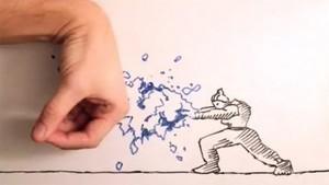 Pelea entre una mano y un dibujo de Dragon Ball causa furor en internet (Vídeo) | Dibujo | Scoop.it