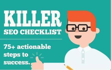 The Definitive SEO Checklist for Your Business [Infographic] | Social Media, SEO, Mobile, Digital Marketing | Scoop.it