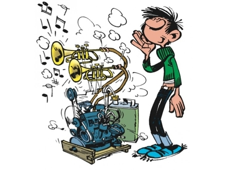 BD. Anniversaire de Lagaffe : les inventions de Gaston | Ca m'interpelle... | Scoop.it