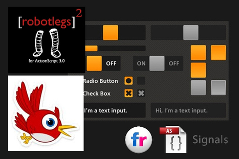 Robotlegs 2 + Feathers + Signals + Flickr = RoboFeskLer? | flash interactive | Scoop.it