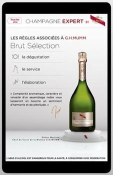 Mumm sort son appli - Emarketing | champagne & marketing | Scoop.it