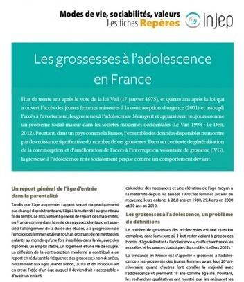 Les grossesses à l'adolescence en France   espace pro   Veille numérique sur l'adolescence   Scoop.it