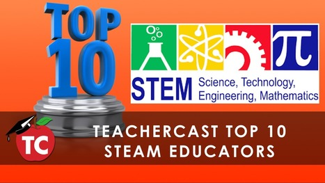 Top 10 STEM Educators To Follow on Twitter · TeacherCast Educational Broadcasting NetworkbyJeffrey Bradbury | iPads, MakerEd and More  in Education | Scoop.it