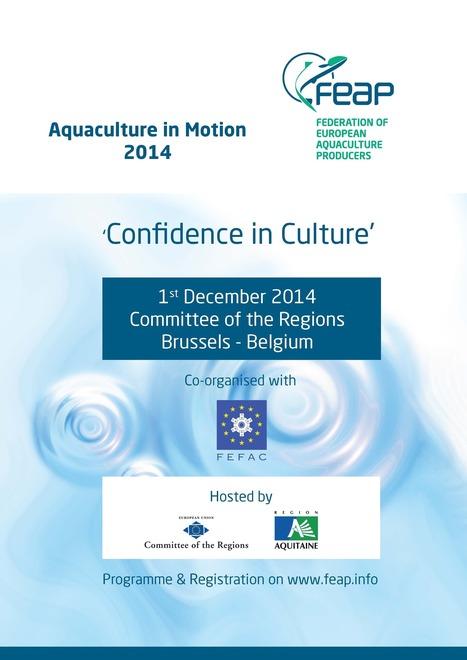 Aquaculture in Motion 2014 - Brussels, Belgium - 1st December, 2014 | Aquaculture Recruitment | Scoop.it
