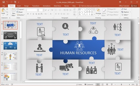 Animated HR PowerPoint Template | PowerPoint Tips & Presentation Design | Scoop.it