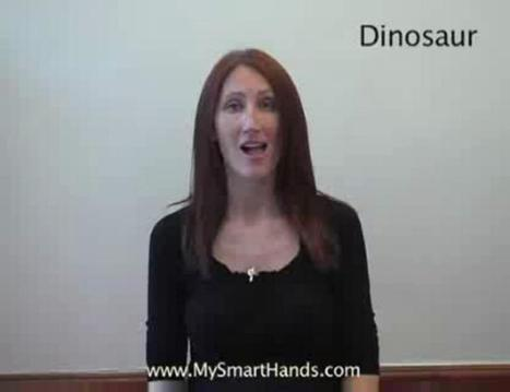 #3: Teach Children and Parents the ASL sign for Dinosaur | Storytime for Children Age 2-3 | Scoop.it