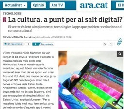 La cultura, a punt per al salt digital? | #eduticblq | Scoop.it
