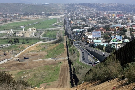 Changing Face of the US/Mexico Border | Geography Education | Scoop.it