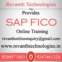 SAP FICO online training, SAP FICO online training in Hyderabad   Online Training from Hyderabad   Scoop.it