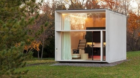 Movable concrete micro-home can be installed in just 7 hours | CLOVER ENTERPRISES ''THE ENTERTAINMENT OF CHOICE'' | Scoop.it