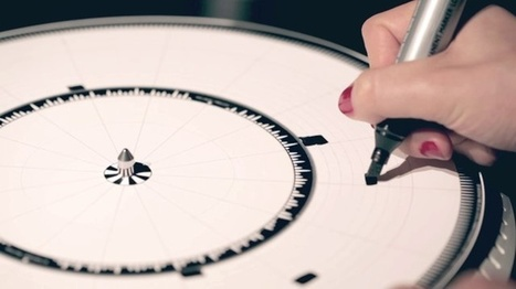 Dyskograf translates drawings into musical sequences a graphic disk reader | VIM | Scoop.it