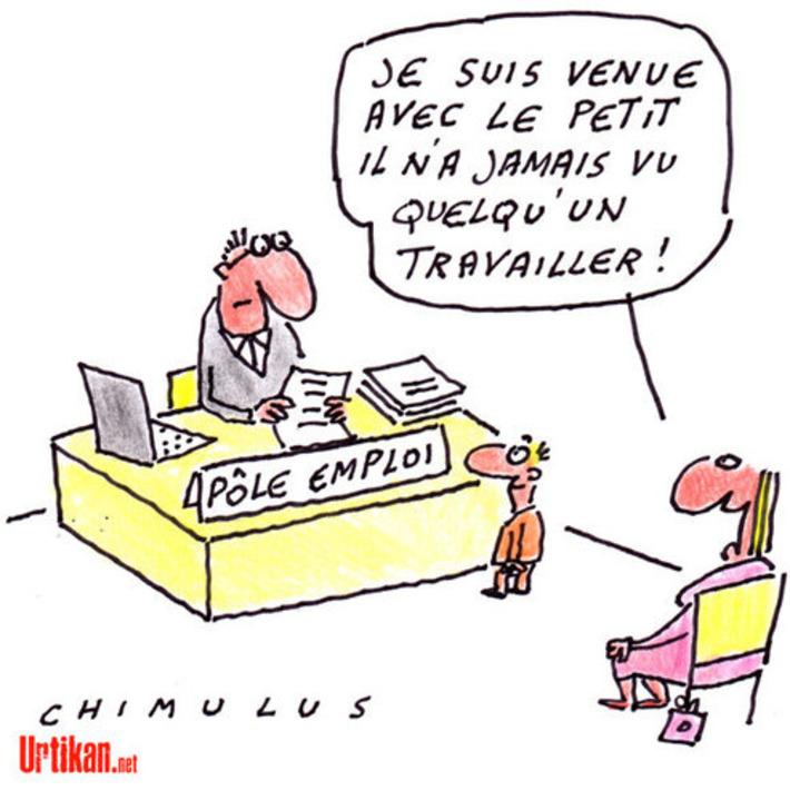 Il n'y a jamais eu autant de chômeurs en France | Baie d'humour | Scoop.it