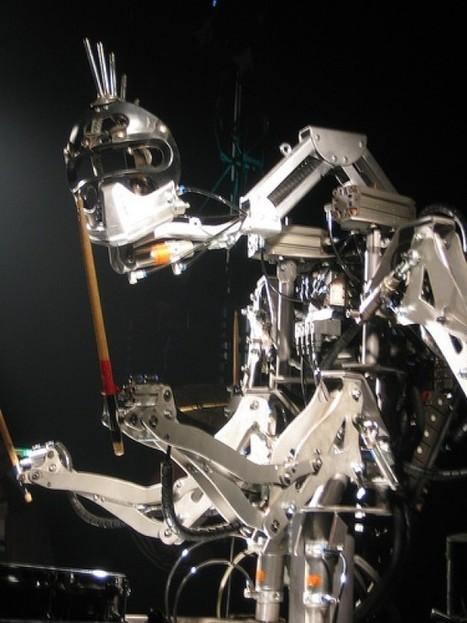 StickBoy : l'incroyable robot de Robocross qui joue de la batterie à la perfection. | Semageek | Développement, domotique, électronique et geekerie | Scoop.it