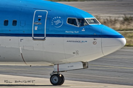 A KLM Boeing 737 in Paris | Aviation & Airliners | Scoop.it