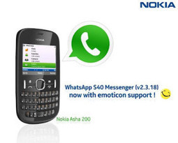 WhatsApp for Nokia (Symbian) & Java Phones Download | supplysystems | Scoop.it