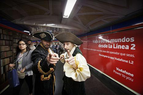 Una app de Vodafone permite descargar ebooks gratis en la línea 2 del Metro en Madrid   Noticias y comentarios de actualidad sobre el libro electrónico. Documenta 48   Scoop.it