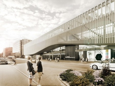 Helsinki Central Library Competition Entry / Marc Anton Dahmen | Studio DMTW | innovative libraries | Scoop.it