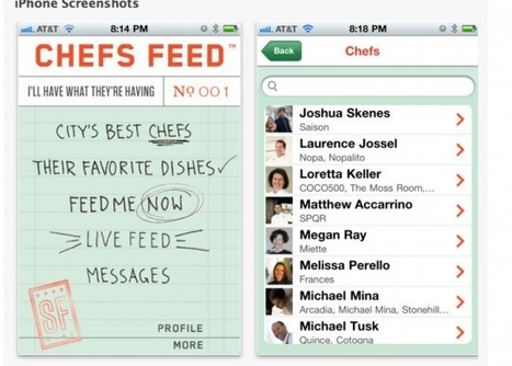 Chefs Feed iPhone App, with Grant Achatz, Thomas Keller and Mario Batali | Pursuitist | More Than Just A Supermarket | Scoop.it