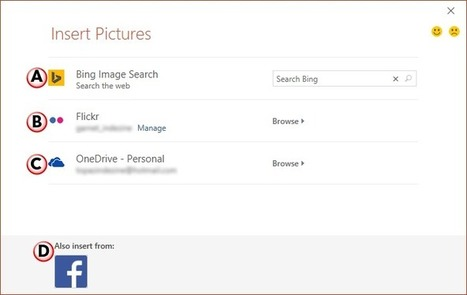 Insert Online Pictures in PowerPoint 2016 for Windows | PowerPoint Tutorials | Scoop.it