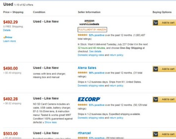 Amazon Gets Closer to eBay with Used, Collectibles Photo Policy | Consumption Junction | Scoop.it