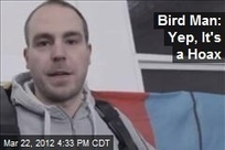 Bird Man: Yep, It's a Hoax | It's Show Prep for Radio | Scoop.it