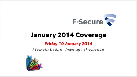 January Coverage (10th) | F-Secure Coverage (UK) | Scoop.it
