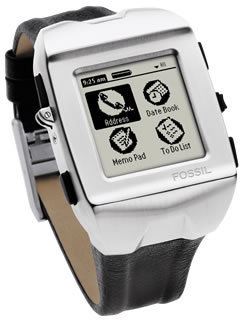 Fossil Wrist PDA | Personal Digital Assistant of our Childhood | Scoop.it