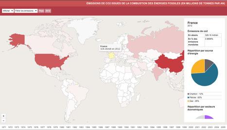 Le monde au prisme du carbone | Journalisme graphique | Scoop.it